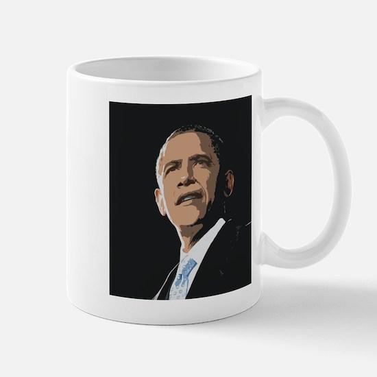 Obama Painting Mug