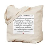 First Amendment Tote Bag