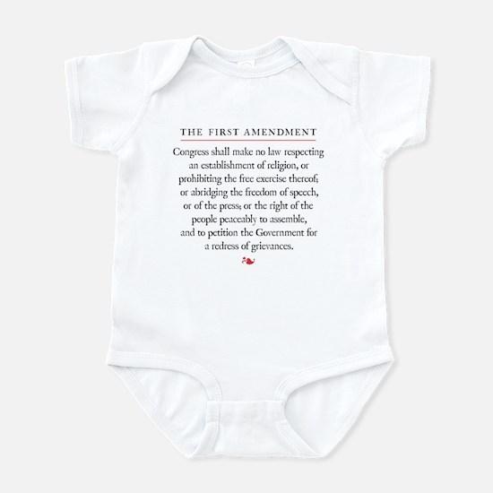 First Amendment Infant Bodysuit
