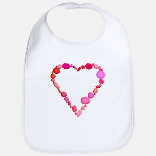 Valentine's Day Heart Bib