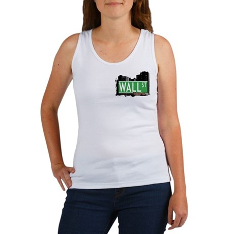 WALL STREET, MANHATTAN, NYC Women's Tank Top