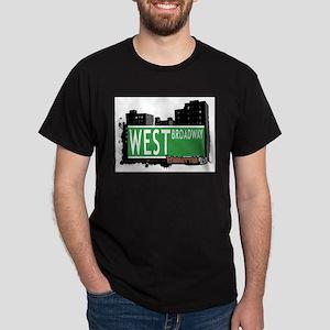 WEST BROADWAY, MANHATTAN, NYC Dark T-Shirt