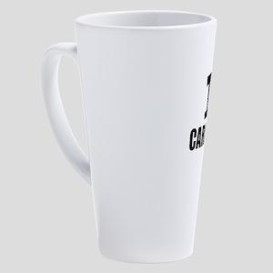 I Love Cardiology 17 oz Latte Mug