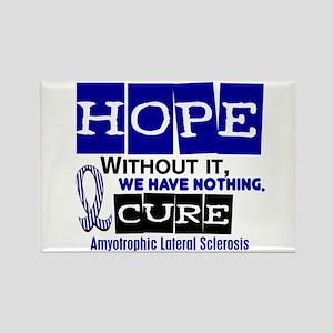 HOPE ALS 2 Rectangle Magnet