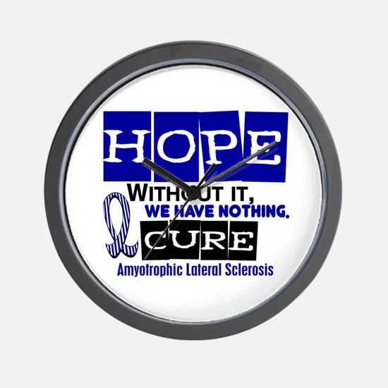 HOPE ALS 2 Wall Clock