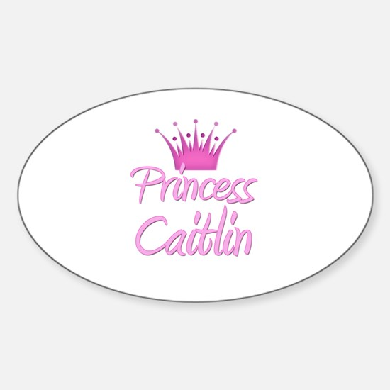 Princess Caitlin Oval Decal