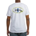 Doheny Surf Spots Fitted T-Shirt