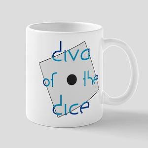 Diva of the Dice Mug