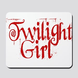 Twilight Girl Mousepad