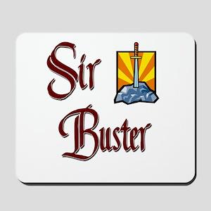 Sir Buster Mousepad
