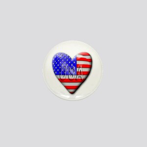 USA Mini Button