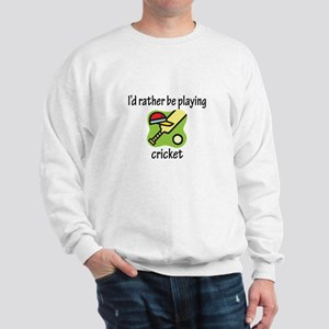 Playing Cricket Sweatshirt