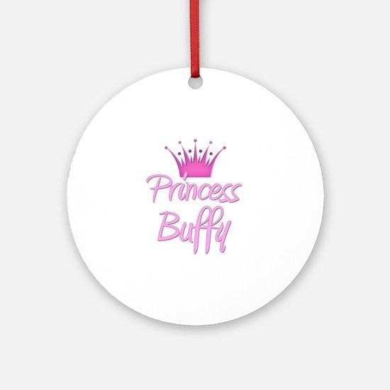 Princess Buffy Ornament (Round)