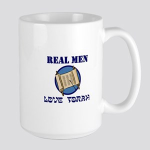 Large Real Men Mug
