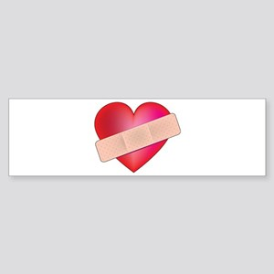 Healing Heart Bumper Sticker