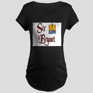 Sir Bryant Maternity Dark T-Shirt