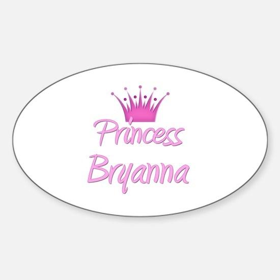 Princess Bryanna Oval Decal