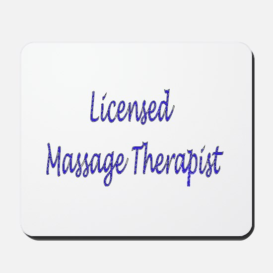 Licensed Massage Therapist Mousepad