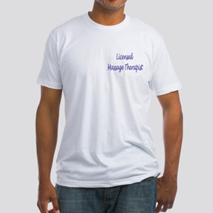 Licensed Massage Therapist Fitted T-Shirt