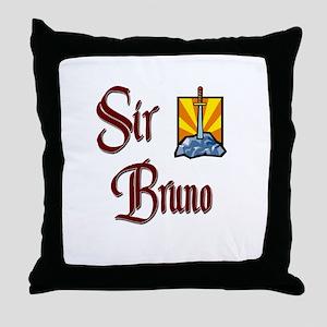 Sir Bruno Throw Pillow