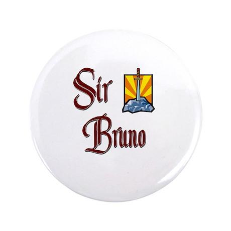 """Sir Bruno 3.5"""" Button"""