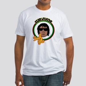Riyah-Li Designs Soul Glo Survivor Fitted T-Shirt