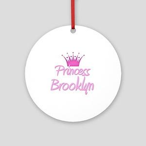 Princess Brooklyn Ornament (Round)