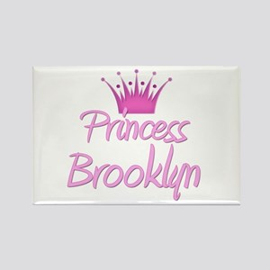 Princess Brooklyn Rectangle Magnet