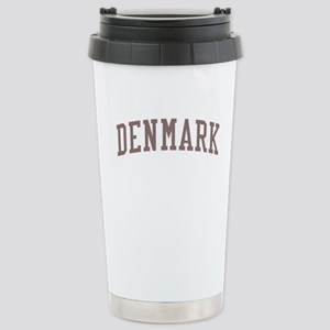 Denmark Red Stainless Steel Travel Mug