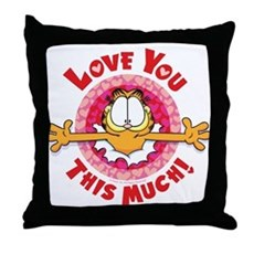 Love You This Much! Throw Pillow