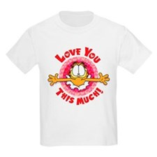 Love You This Much! Kids Light T-Shirt