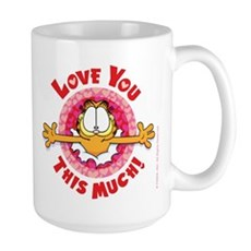 Love You This Much! Large Mug