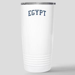 Egypt Blue Stainless Steel Travel Mug