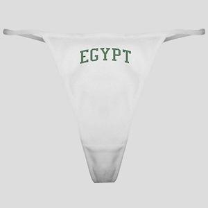 Egypt Green Classic Thong