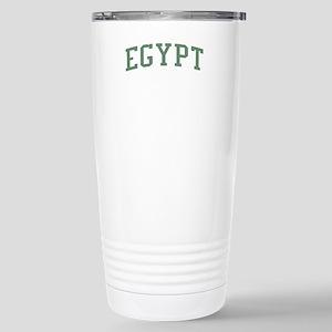 Egypt Green Stainless Steel Travel Mug