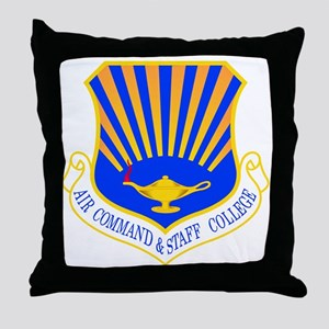 Command & Staff Throw Pillow