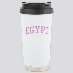 Egypt Pink Stainless Steel Travel Mug