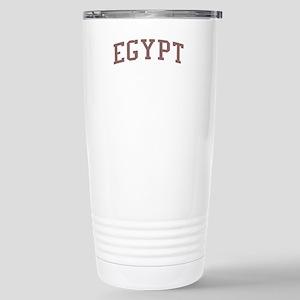 Egypt Red Stainless Steel Travel Mug