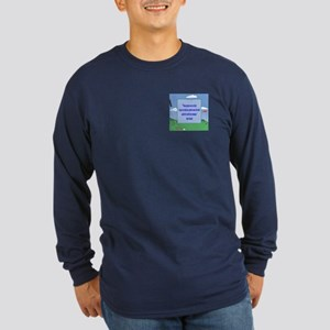 Golf Quotes Sneed Long Sleeve Dark T-Shirt