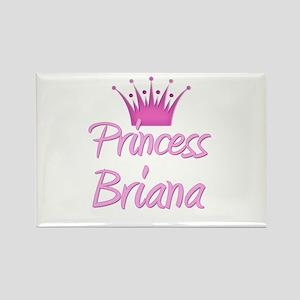 Princess Briana Rectangle Magnet