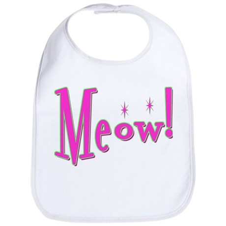 Meow With Attitude: Bib