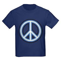 Blue Peace Symbol T