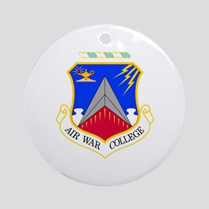Air War College Ornament (Round)