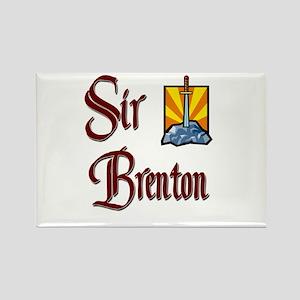 Sir Brenton Rectangle Magnet