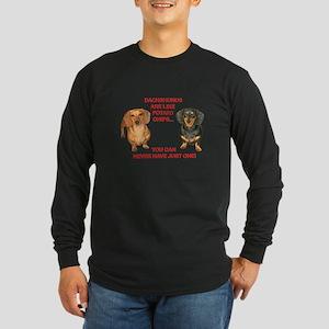 Potato Chips Long Sleeve Dark T-Shirt