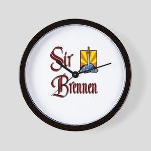 Sir Brennen Wall Clock