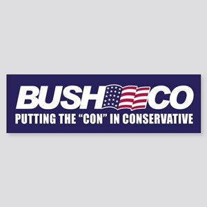 BUSHCO Bumper Sticker