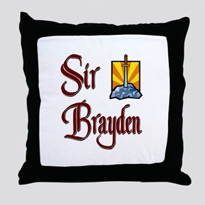 Sir Brayden Throw Pillow