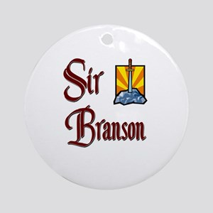 Sir Branson Ornament (Round)