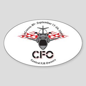 CFO 2009 Oval Sticker